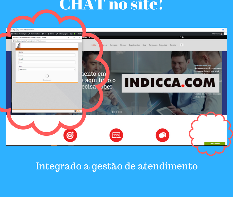 mySuite Como colocar Chat no Site? Chat On Line!
