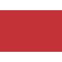 Icone Outsourcing de TI indicca vermelho