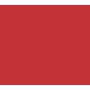 icone cloud indicca vermelho