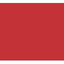 icone desenvolvimento de sites vermelho