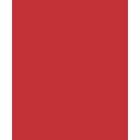 icone firewall indicca vermelho
